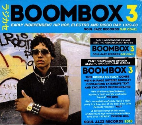 Various<br>Boombox 3 (Early Independent Hip Hop, Electro And Disco Rap 1979-83)<br>2CD, Comp